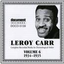 Leroy Carr Vol. 6 (1934-1935) thumbnail
