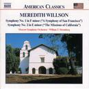 Willson, M.: Symphonies Nos. 1 and 2 thumbnail