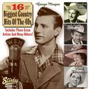 16 Biggest Country Hits Of The 40's thumbnail