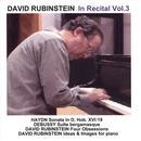 David Rubinstein: In Recital, Vol. 3 thumbnail