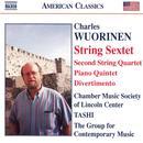 Charles Wuorinen: String Sextet; Piano Quintet; Divertimento thumbnail