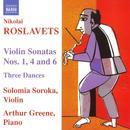 Nikolai Roslavets: Violin Sonatas; Three Dances thumbnail