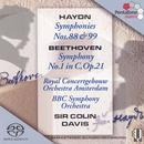 Haydn: Symphonies Nos. 88 & 99/Beethoven: Symphony No. 1 thumbnail